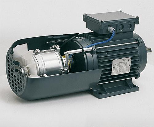 externé chladenie elektromotorov ukážka